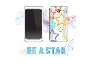 Smartphone stars