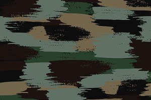 Dark camouflage seamless pattern