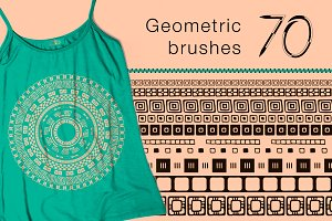 Geometric Brushes - Square