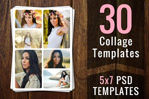 Photoshop Collage Templates PSD PSDS