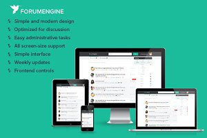 ForumEngine, WordPress Forum Theme