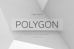 Polygon Clean Backgrounds | v1