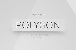 Polygon Clean Backgrounds |  v2