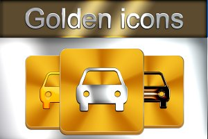 Golden icon kit included 1