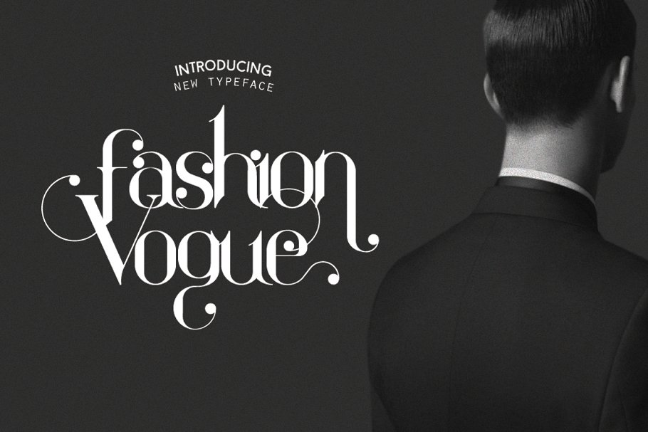 Fashion Vogue ~ Display Fonts ~ Creative Market