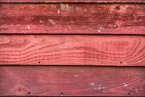 Red rusty wooden background