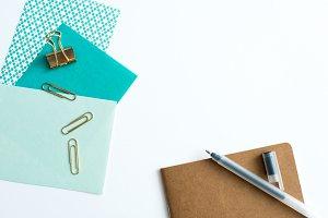 Styled Stock Photo - Desk Stationery