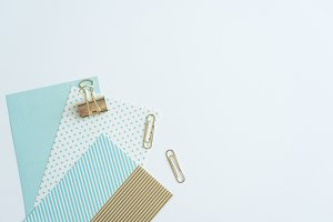 Styled Stock Photo - Desk Stationery