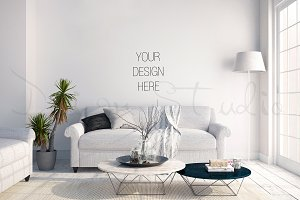 interior PSD, living room photo