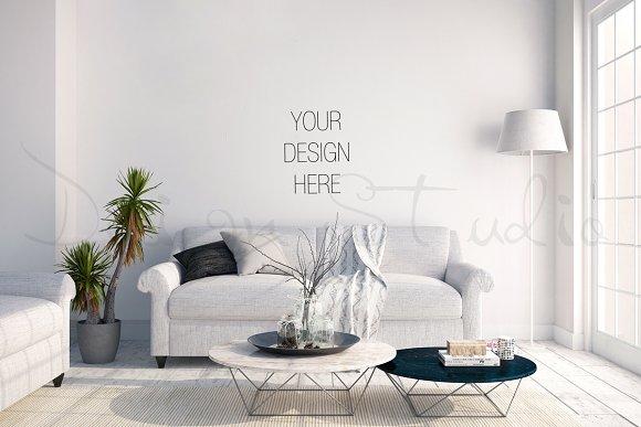 Interior PSD Living Room Photo