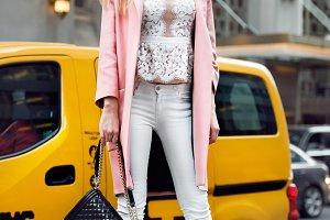 beautiful fashion model girl
