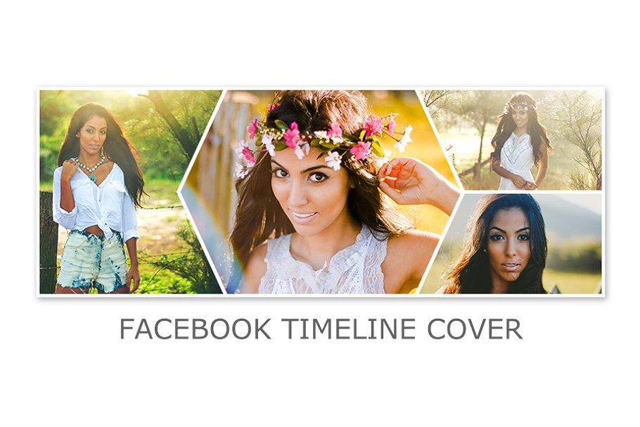 Facebook Timeline Cover Template PSD