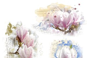 Magnolia Blendable Texture Overlays