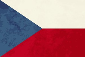 True proportions Czech Republic flag