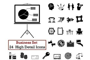 24 Business Icons