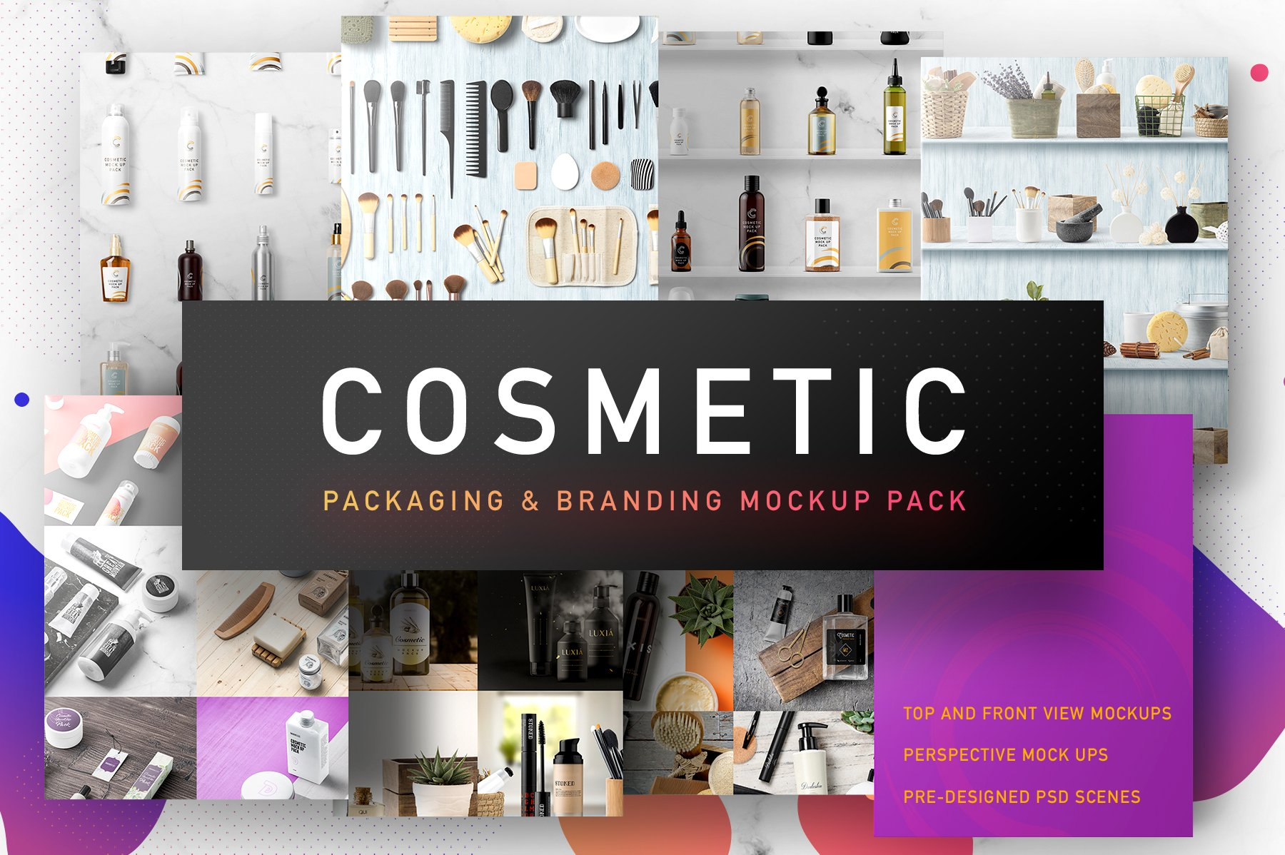 Cosmetic Packaging Branding MockUp ~ Product Mockups ~ Creative Market