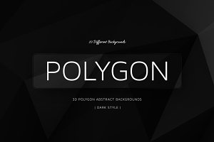 Polygon Dark Backgrounds | v5