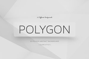 Polygon Clean Backgrounds | v6