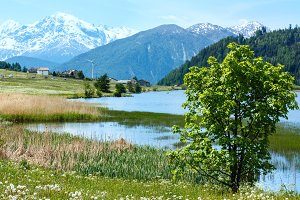 lake Lago di Resia (Italy)