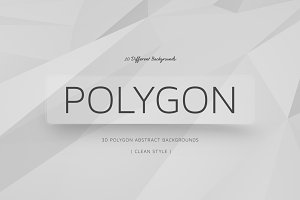 Polygon Clean Backgrounds | v8