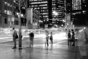 Sydney Street Intersection BW