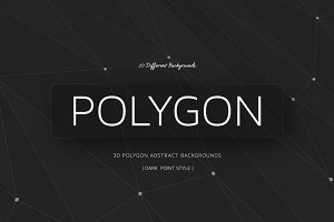 Polygon BGs Dark | Point Style V0l1