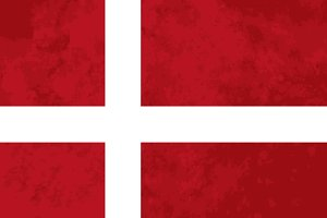 True proportions Denmark flag