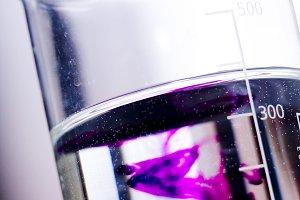 Glass Beaker Medical Testing