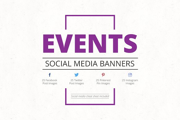 Events Social Media Banners