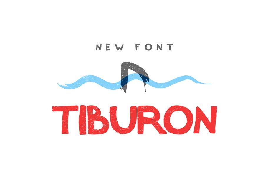 Tiburon — Font