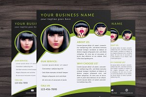 Flyer Template 003 for Photoshop