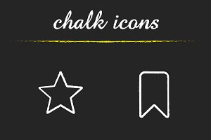 Tags and marks icons. Vector