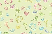 Seamless summer background