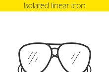 Sunglasses icon. Vector