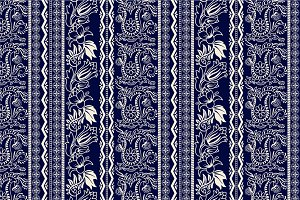 4 Border Paisley Patterns