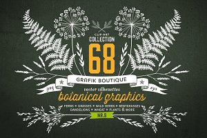 Botanical elements. More than 68!