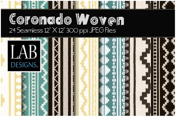 24 Seamless Woven Fabric Textures