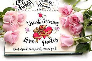 Brush Lettering Love Quotes