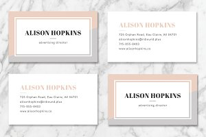 Minimalistic Business Card 02