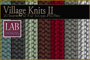 20 Seamless Knit Fabric Textures