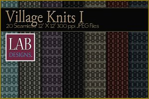 20 Wool Knit Fabric Textures