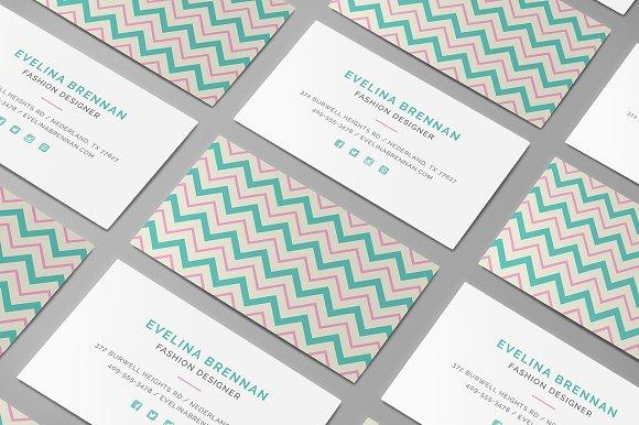 6 chevron business card templates business card templates 6 chevron business card templates business card templates creative market colourmoves