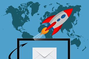 email marketing concep