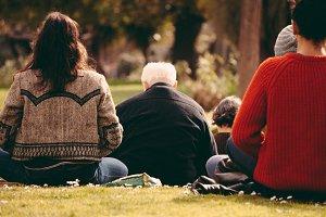 Meditation at the park