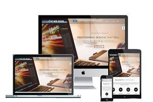 AT Web Design Onepage Joomla