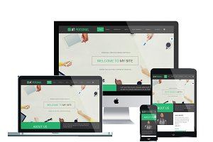 AT Personal Onepage Joomla Template
