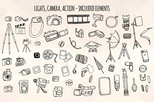 50+ Camera and Film Vector Graphics