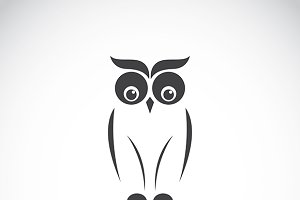 Vector images of owl design