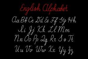 Hand draw Alphabet