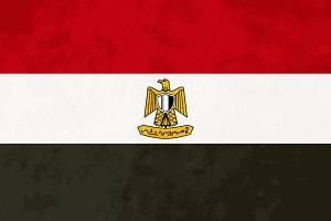 True proportions Egypt flag